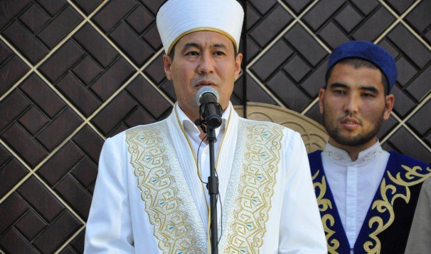 Бас мүфти «Халифа қажы Алтай» мешітінің ашылу салтанатына қатысты (ФОТО)