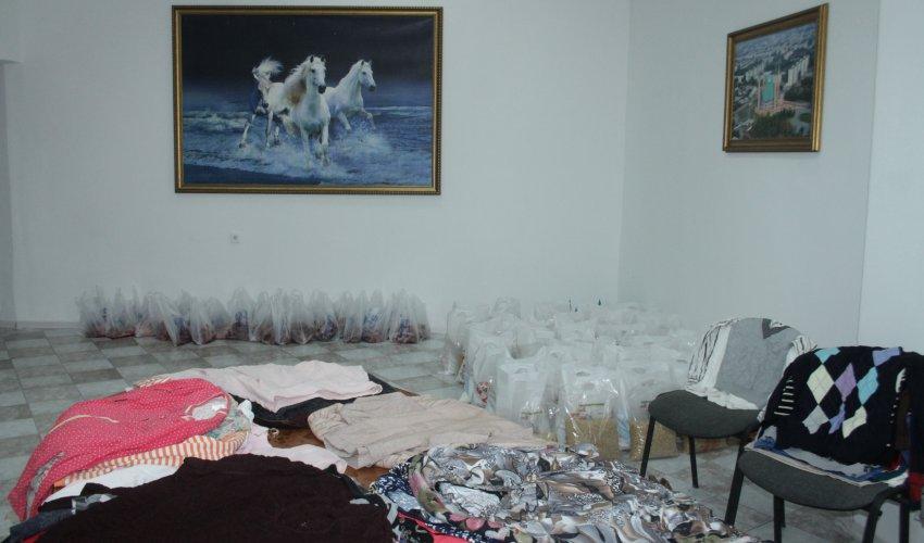 Мерекелер  құрметіне көмек жасалды (ФОТО+ВИДЕО)