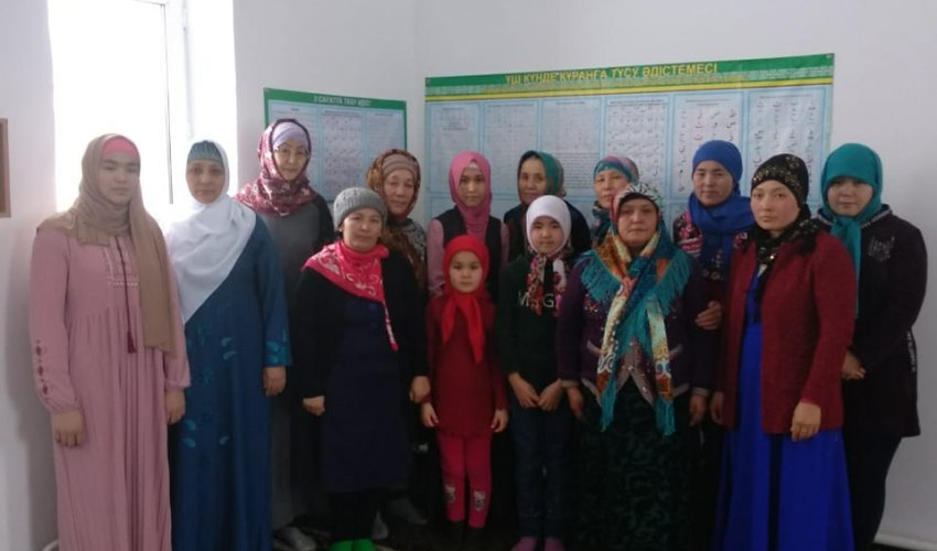 Встреча в мечети села Бескарагай