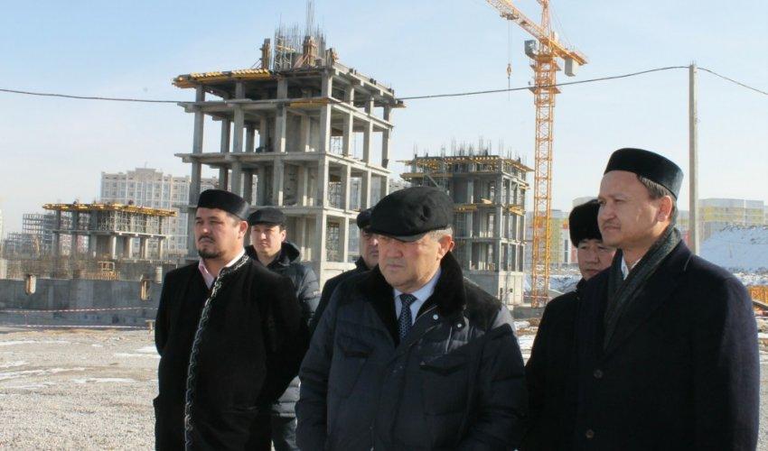 Шымкент қаласында 8000 орындық жаңа мешіттің құрылысы жүріп жатыр (ФОТО)