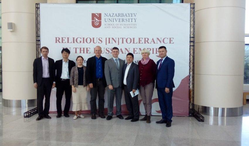 «Ресей империясы кезіндегі діни төзімділік»  Тақырыбында халықаралық конференция өтті