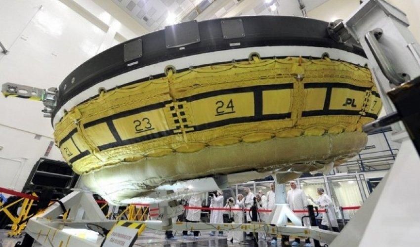 НАСА «ұшатын тәрелке» пішіндес аппаратты сынайды