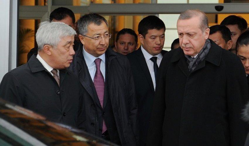 Түркия президенті Реджеп Тайып Ердоған Қазақстанға келді