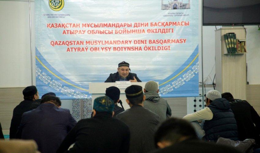 «Екібастұздың» бас имамы Атырау облысында болды
