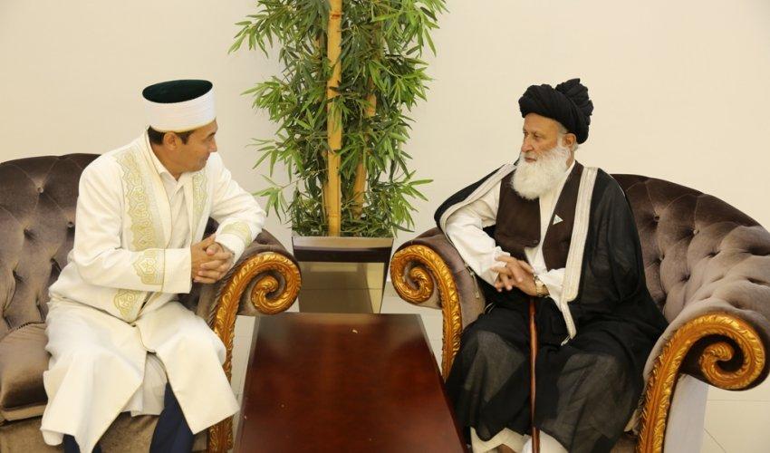 Бас мүфти Пәкістанның Ислам идеологиясы Кеңесінің төрағасын қабылдады (ФОТО)