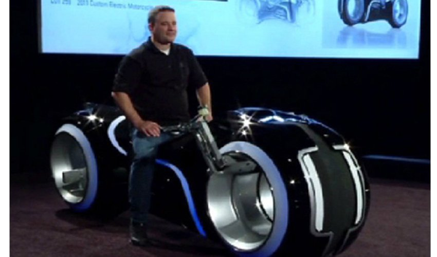 Әлемдегі ең ерекше мотоцикл $77 мыңға сатылды