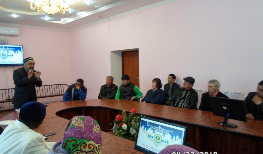 «Халал Даму» өкілі семинар өткізді