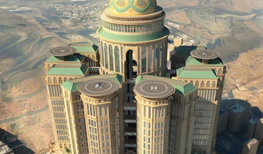 Меккеде әлемдегі ең ірі қонақүй салынуда