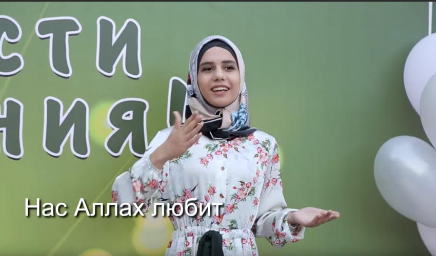 Нас Аллах любит / Нашид с сурдопереводом