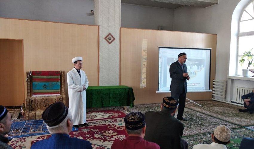 Встреча с представителем «Халал Даму» в Успенском районе