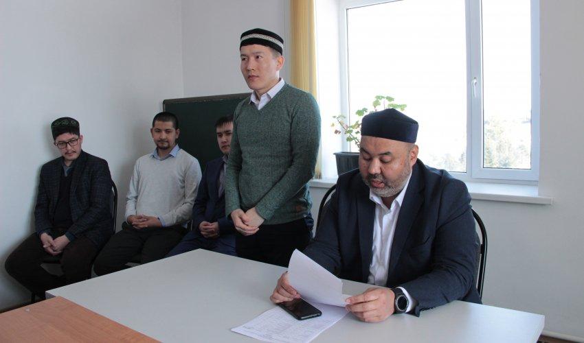 Новый директор медресе «Абу Бакр Сыддык»
