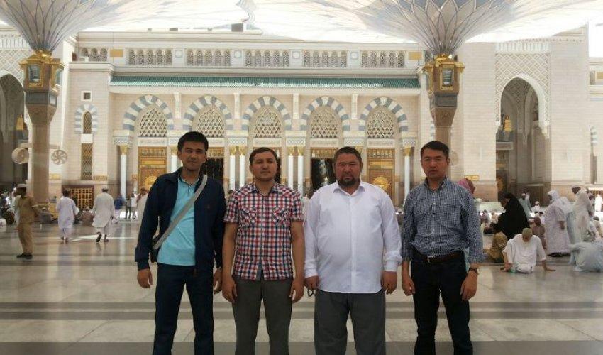 ҚМДБ делегациясы Мекке-Медина қалаларында (ФОТО)
