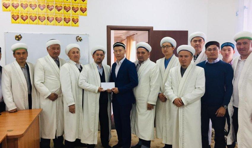 «Әбу Бәкір Сыддық» медресе-колледжіне қаржылай көмек берілді