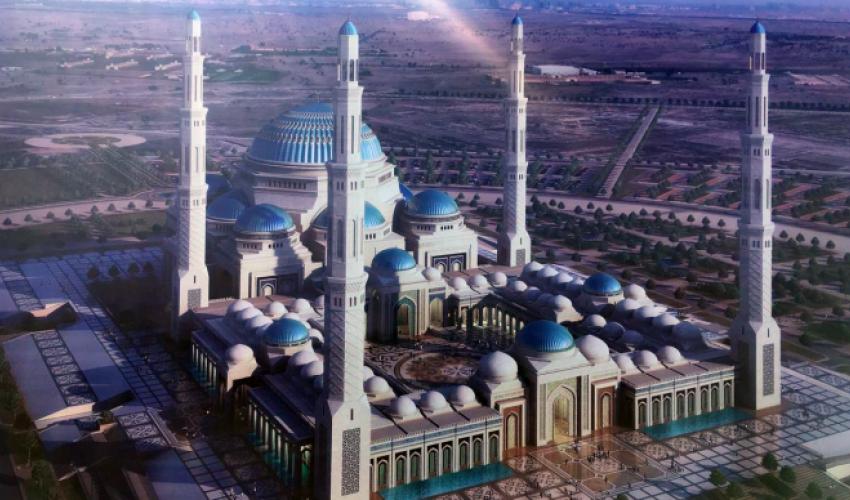 Астананың бас мешіті салынады: Назарбаев капсуласын қалады (ФОТО+ВИДЕО)