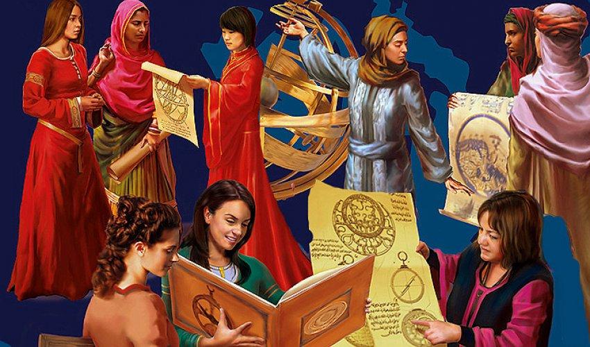 Женщины в золотой век ислама (ФОТО)