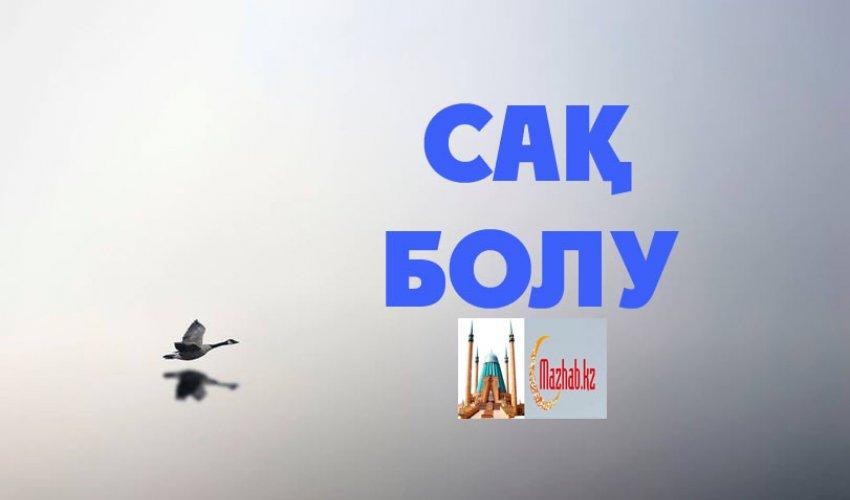 САҚ БОЛУ