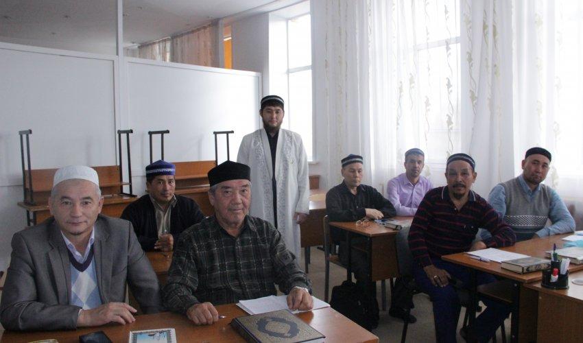 Ауыл имамдары апталық курске қамтылуда