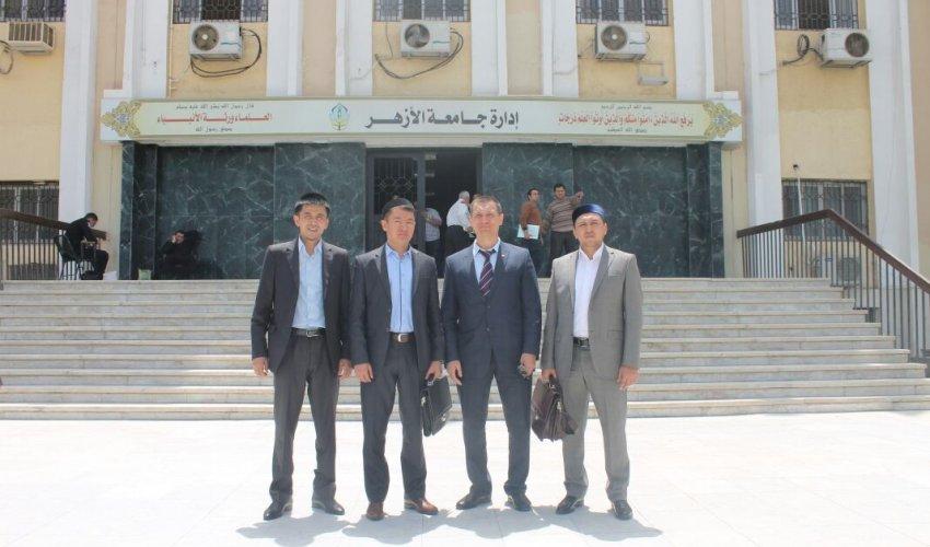 ҚМДБ делегация тобы Мысыр Араб Республикасында (ФОТО)