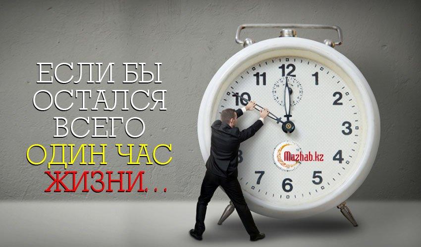 Если бы остался всего один час жизни…