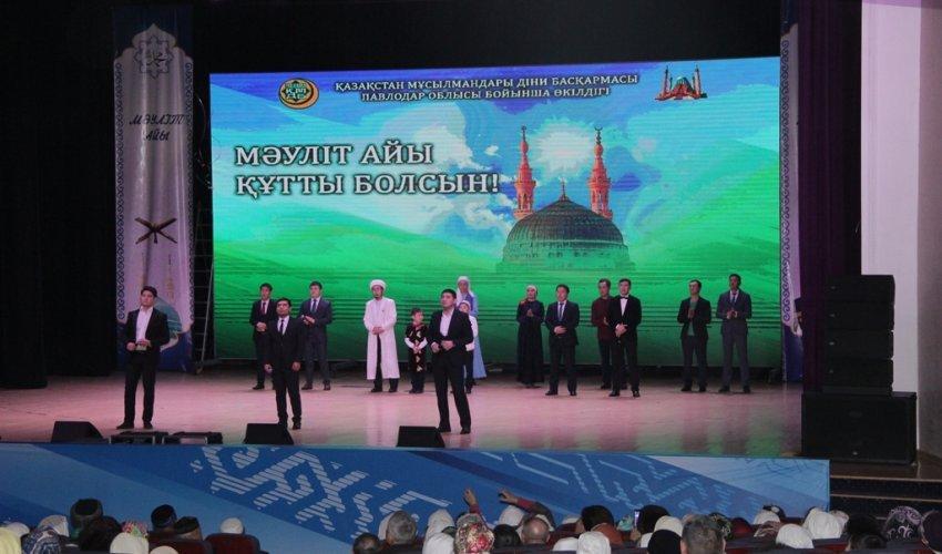 Праздник Маулид в Павлодаре (ФОТО)