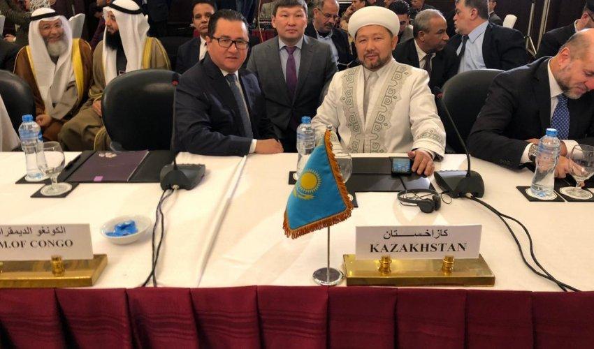 Наиб мүфти Мысырда Халықаралық конференцияға қатысуда (ФОТО)