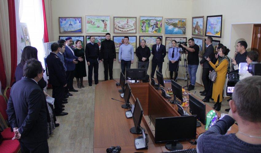 Павлодар облысының прокурорлары экстремизммен сотталушылардың сурет көрмесін өткізді