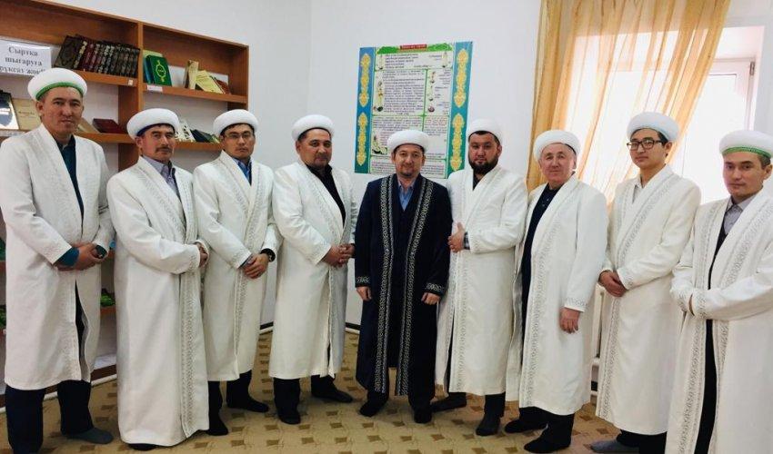 «Ақмешіт» мешітіне  қарасты имамдардың кезекті жиналысы