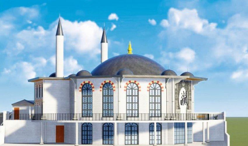 Турецкие домохозяйки строят мечеть