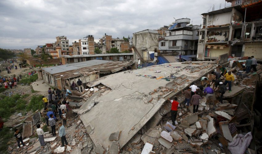 Қытайда Непалдағы жер сілкінісінен опат болғандар саны 20 адамға жетті