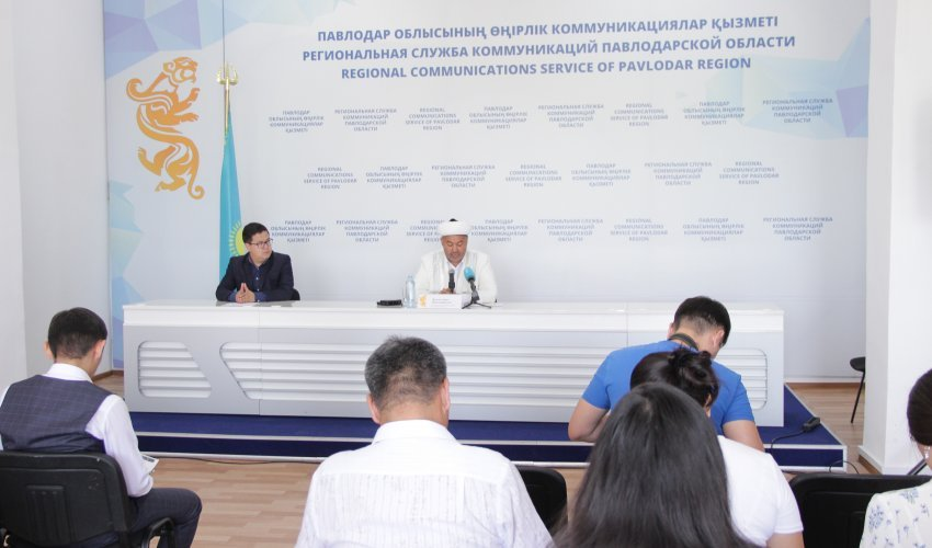 Брифинг по празднованию Курбан Айта в Павлодаре